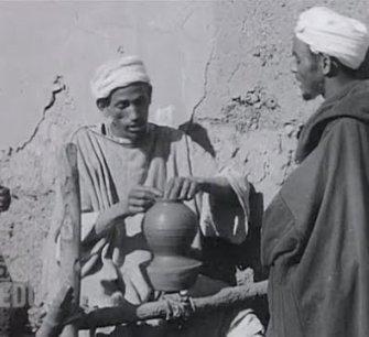 Maroc 1929-1930, artisans, marchés (sonore)