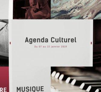 Agenda culturel du 07 au 13 janvier 2019