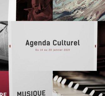 Agenda culturel du 14 au 20 janvier 2019