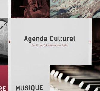 Agenda culturel du 17 au 23 décembre 2018
