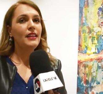 Revue de presse de l'exposition «Les toiles se dévoilent» de Hanan BOUANANI