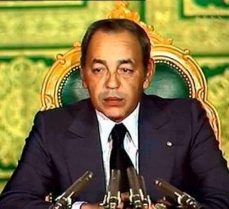 Hassan II : annonce de la marche verte