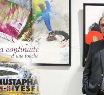 """Exposition """"la continuité d'une touche"""" de Mustapha YESFI"""