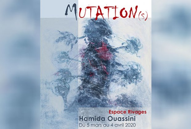 "Vernissage de l'exposition ""Mutation(s)"" de Hamida Ouassini"