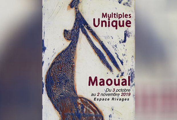 "Vernissage de l'exposition "" Multiples Unique "" de Maoual"