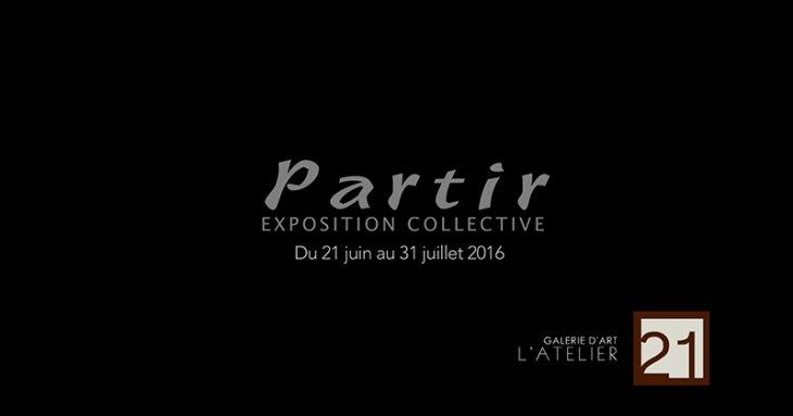 « Partir », Exposition collective