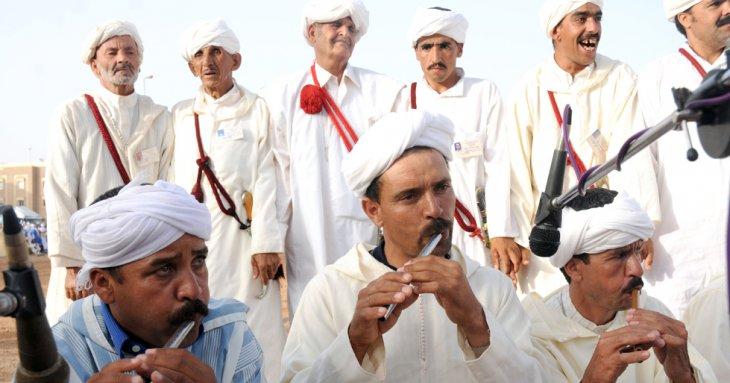 Tal'ouat, flûte de l'ahwash