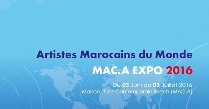 « Artistes Marocains du Monde Mac. A Expo 2016 »