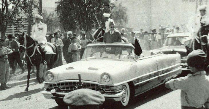 Mohammed V - Rabat le 5 mars 1956