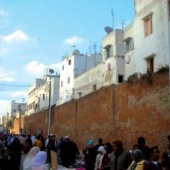 L'ancienne médina de Casablanca reste, aujourd'hui encore, un lieu particulièrement animé.