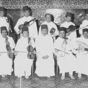 orchestre de Tétouan en 1990 avec Temsamani et Chekkara