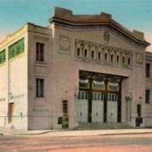 Le Théâtre municipal, dessiné par Hippolyte Delaporte, photographié dans les années 1930