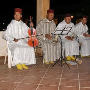 Orchestre de melhoun à Erfoud
